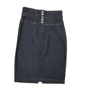 Costa Blanca Sexy Denim Skirt US 6